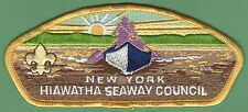 HIAWATHA SEAWAY COUNCIL 373 NEW YORK BOY SCOUT CSP PATCH S3