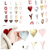 I LOVE YOU Letter Banner Valentine's Day Proposal Courtship Wedding Party Decor