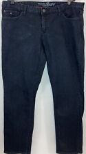 Tommy Hilfiger Womens Dark Stretch Modern Skinny Jeans Size 18