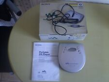 BOXED SONY D-EJ725 CD Walkman Portable Discman Personal CD Player Anti Skip