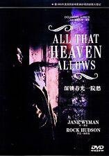 """New DVD """" All That Heaven Allows """" Jane Wyman, Rock Hudson"""
