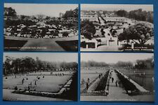Set of 4 Vintage Repro 1920s/30s Postcards, Beach House Park Worthing Sussex 27N