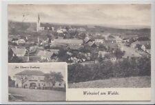 74000/35- Weinzierl am Walde Bezirk Krems-Land Gasthaus Niederösterreich um 1920