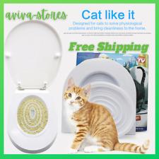 Cat Training Toilet Seat Cat Toilet Training Kit Kitten Litter Free Trainer Cat