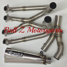 "99-18 Hayabusa Brock's Peformance Polished 14"" Alien Head 2 Full Exhaust System!"