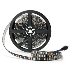 RGB 300Leds 5M 5050 SMD Black PCB LED Strip Light Waterproof for Home Decoration