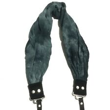 """Capturing Couture Blue Tie Dye Scarf Camera Strap 30"""" Length"""