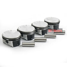 4x Pistons Rings Set 87.5mm Φ21mm Pin For FORD Mondeo Fusion MAZDA 3 5 6 2.3 MZR
