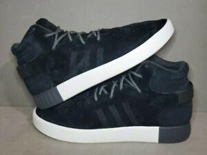 Adidas Men Originals Tubular Invader Black Sneaker Men High Shoes Size 11