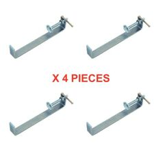 "PROFILE BRICK LAYING CLAMPS 8""  / 200MM  X 4 PCS BRICK CLAMP TONGS"