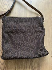Genuine Dkny Crossbody Bag - Brown