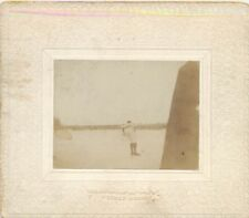 Antique original Photo POCKET KODAK Winner of Hogaw Skate at Eau Claire 1890's