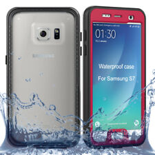 For Samsung Galaxy S7 Waterproof Case 360 Full Body Protective Case Cover