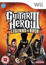 Guitar Hero III: Legends of Rock NEW and Sealed Wii Original Release NOT Budget