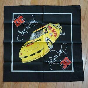 "Nascar Bandana Micheal Waltrip #30 Pennzoil Yellow Race Car Scotty '91 22"""
