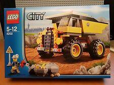 LEGO City/4202 Mining Truck/RARA smobilizzato/Nuovo Con Scatola Nuovo Sigillato ✔ Fast P & P ✔