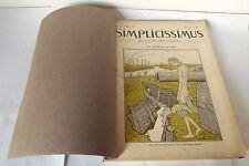 Langen/Heine,SIMPLICISSIMUS.1915,20 Jahrgang[settimanale satira,illustrazione