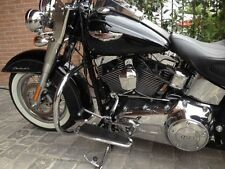 ENGINE GUARD HIGHWAY CRASH BAR SOFTAIL HARLEY FAT BOY HERITAGE DELUXE CUSTOM
