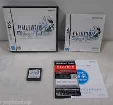 DS -- Final Fantasy Echoes of Time -- Can data save! Nintendo DS, JAPAN. 52873