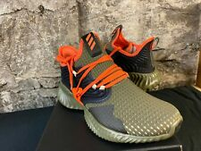 Adidas Alphabounce Instinct CC Raw Khaki/True Orange NEW IN BOX MENS SIZES 8 -13
