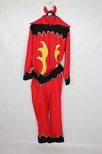 Men's Halloween Red Devil Jumpsuit Fancy Dress Costume  XL (24)