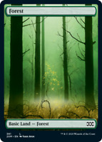 Forest (381) - Foil x1 Magic the Gathering 1x Double Masters mtg card