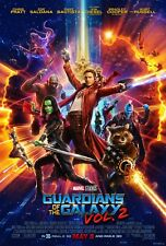 GUARDIANS OF THE GALAXY Vol 2 Poster One-Sheet 2-Sided MARVEL Infinity War 27x40