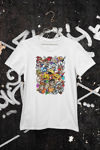 Retro Game Heroes T-Shirt Dad Birthday Funny Print Gift Man Cotton Customised