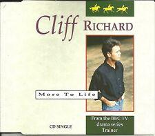 CLIFF RICHARD More to Life / Mo's theme INSTRUMENTAL EUROPE CD single USA Seller
