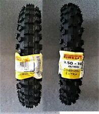 PIRELLI 2.5-10 & 2.75-10 MINI MX EXTRA-J OFF-ROAD DIRT TIRE SET HONDA CRF50 50cc