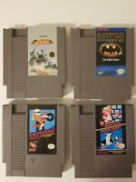 Nintendo nes-001 Games Batman, Jackal, Excitebike, Super Mario Bros Duck Hunt