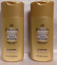 Jergens Natural Glow Tan Extender All Skin Tones Daily Moisturizer