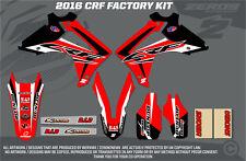 Honda CRF450 2005-2008 Motocross MX Gráficos Kit Fábrica Negro Split