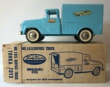 Vintage 1961 Tonka Toys No. 103 Service Truck with Ladder and Original Box