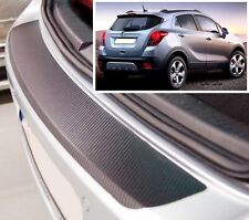 Vauxhall/Opel Mokka - Carbon Style rear Bumper Protector