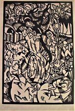 expressiver Holzschnitt - 1920er/30er Jahre - signiert