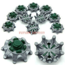 14pcs Pulsar Soft Spikes For Footjoy golf shoes Fast Twist Thread Tri-Lok-Green