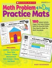 Math Problem of the Day Practice Mats: 180 Instant Activity Pages That Help Chil