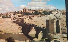 ANTIGUA POSTAL TOLEDO 1961 PUENTE SAN MARTIN CASTILLA LA MANCHA POSTCARD CC04094