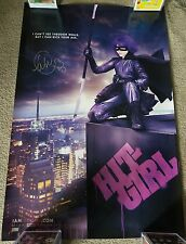 Chloe Grace Moretz signed Hit Girl 24x36 Poster Kick Ass authentic autograph COA