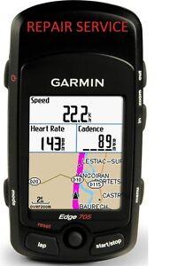 Garmin Edge 605 705 800 Repair, Button, Battery, LCD
