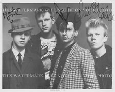 DEPECHE MODE BAND SIGNED AUTOGRAPHED 8x10 RP PROMO PHOTO ENJOY THE SILENCE