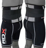RDX Back Support Belt Weight Lifting Lower Brace Pain Relief Training Fitness AU
