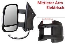 FIAT DUCATO 06- JUMPER BOXER AUSSENSPIEGEL SPIEGEL ELEKTRISCH LINKS MITTEL ARM