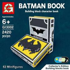 Building Blocks Super Heroes DC Sets MOC 13002 The Batman Book Bricks Collection