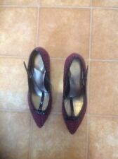Marks and Spencer Textured Textile Heels for Women
