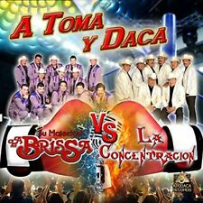 Su majestad La Brissa Vs La Concentracion A toma y Daca CD New Nuevo Sealed