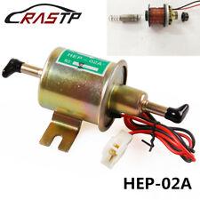 Inline Fuel Pump 12 Volt Universal Metal Low Pressure Electric Fuel Pump for Petrol Diesel 2.5-4PSI EP12