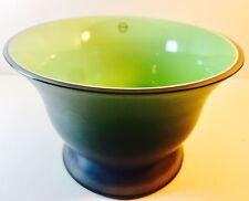 Skillfully Crafted Murano Art Glass Venetian Italian Salviati Slate Gray Bowl