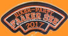 FAAKER SEE Biker Party * 2017 * Aufnäher Patch
